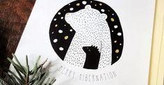 Merry hibernation sleepy bear and hedgehog card set Sleepy Bear, Pottery Sculpture, Etsy Business, Winter Holidays, Fabric Design, Art For Kids, Etsy Shop, Crafty, Creative