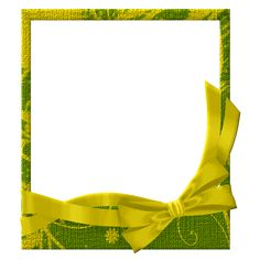 yellow frame png | Green and Yellow Transparent Frame