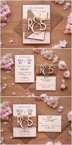Doris Home wedding invitations wedding invites invitations cards wedding invitations kit Doris Home Square Ivory Laser-cut Lace Flower Pattern Wedding Invitations - Ideal Wedding Ideas Monogram Wedding Invitations, Wedding Invitation Kits, Creative Wedding Invitations, Country Wedding Invitations, Beautiful Wedding Invitations, Rustic Invitations, Passport Wedding Invitations, Wood Invitation, Invitation Wording
