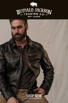 These vintage style brown leather jackets for men give any outfit a classic rugged aesthetic. Keep it classy and casual — the more you wear this biker jacket, the better it looks and feels. Leather Men, Leather Jackets, Brown Leather, Casual Professional, Mens Outdoor Clothing, Best Gifts For Men, Outdoor Outfit, Sexy Men, Men's Style