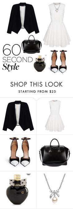 """""""interview"""" by hannderella ❤ liked on Polyvore featuring Alice + Olivia, Givenchy, Aéropostale and MBLife.com"""