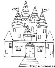 Coloring Pages: Coloring castle alphabet pages Castle Coloring Page, Pattern Coloring Pages, Alphabet Coloring Pages, Cool Coloring Pages, Castle Drawing Easy, Castle Crafts, Doodle Icon, Craft Activities For Kids, Drawing For Kids