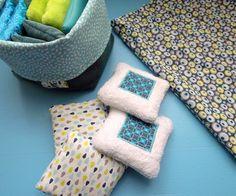 Fée au Marais: coussins sensoriels - idée cadeau naissance, éveil jouet bébé