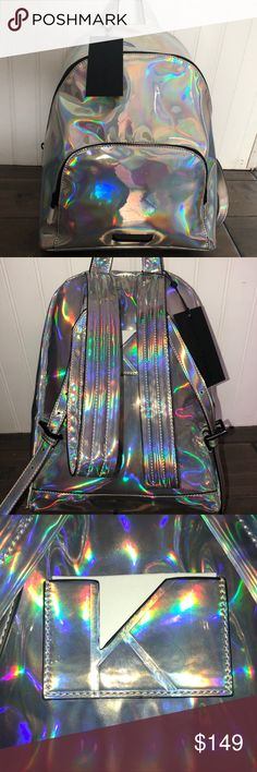 Kendall & Kylie Holographic Backpack (NWT) •New With Tags •Authentic •Holographic •Multiple Pouches Kendall & Kylie Bags Backpacks