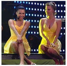 Glee Live - Naya & Heather