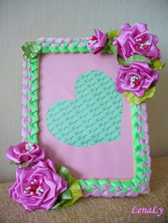 Photoframe Roses by LenaLy on Etsy