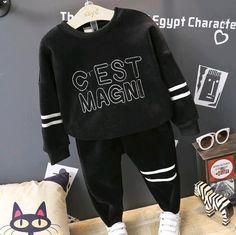 $22.69 (Buy here: https://alitems.com/g/1e8d114494ebda23ff8b16525dc3e8/?i=5&ulp=https%3A%2F%2Fwww.aliexpress.com%2Fitem%2F2016-Winter-new-children-warm-2pcs-clothes-sets-tide-boys-and-girls-double-sided-movement-is%2F32771181494.html ) 2016 Winter new chi