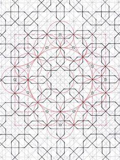 Islamic Art Pattern, Pattern Art, Pattern Design, Arabian Pattern, Arabian Art, Math Art, Geometry Art, Fabric Rug, Islamic Art Calligraphy