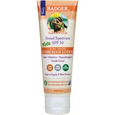 Badger Balm Sunscreen Review & Giveaway