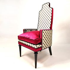 This chair makes me smile..can I have 2 at the low low price of $1900?!