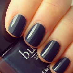 A perfect nail color for fall--- Stag Do by butter LONDON. #peacock