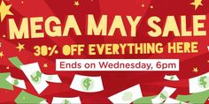 Carousell Singapore Mega May Sale 30% Off Everything Promotion ends 6pm 31 May 2017