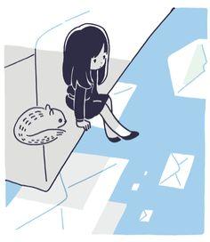 色々なところにメールを送ったり、返信したりしました。