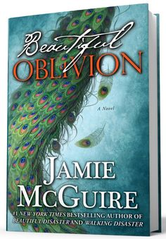 P22 Cezanne font used on Beautiful Oblivion by Jamie McGuire.