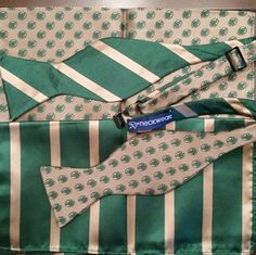 """The Pack Bowtie"" for Buford HS by #P5Neckwear. #bowties #buford #bufordhighschool #highschool #fundraiser #bowtieitup"