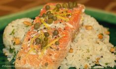 Salmon with Capers, Rosemary and Lemon – {Five Ingredient Friday} | The Saucy Southerner