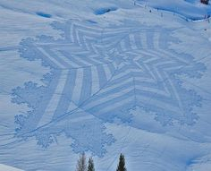 "Unbelievable Snow ""Crop"" Circles"