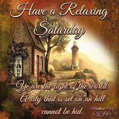 Saturday Blessings!