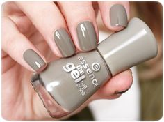 "hi beauties, have you discovered the gel nail polish ""32 discreet agent"" yet? you can create a gorgeous ""military look"" on your nails with this trendy khaki shade. which essence nail polish are you wearing for today's #manimonday?"