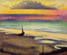 Georges Lemmen, Beach at Heist, 1891