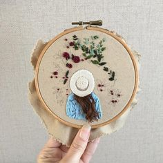Awesome Most Popular Embroidery Patterns Ideas. Most Popular Embroidery Patterns Ideas. Embroidery Hoop Art, Hand Embroidery Patterns, Ribbon Embroidery, Cross Stitch Embroidery, Embroidery Sampler, Needlework, Sewing Projects, Creations, Crochet