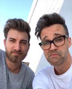 the cutest. Nick Picks, Good Mythical Morning, Link Youtube, One Republic, Can't Stop Laughing, Pretty Men, Best Youtubers, Let Them Talk, Hot Guys