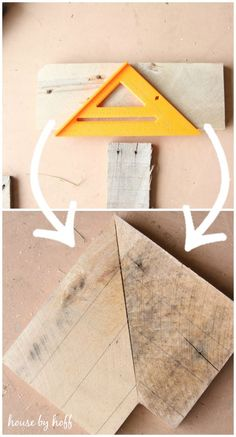 How to Make a Wooden Arrow - House by Hoff