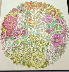 Secret Garden Coloring Book Colorful Gardens Books The Johanna Basford Stop It Colouring In Mandalas Vintage