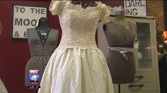 Unique Showcase Exhibits Vintage, Cost-Friendly Ideas for Brides by Katie Ferrell, Fox4KC.com