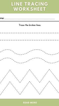 Kindergarten Learning, Kindergarten Math Worksheets, Preschool Learning Activities, Writing Preschool Activities, Line Tracing Worksheets, Printable Preschool Worksheets, Worksheets For Kids, Prewriting Skills, Tracing Sheets