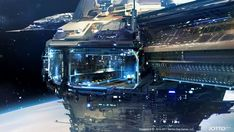 Post with 80 votes and 3126 views. Shared by koboldstyle. Stars Without Number Inspiration Dump Spaceship Interior, Spaceship Design, Science Fiction, Sci Fi Wallpaper, Alien Ship, Futuristic Art, Futuristic Vehicles, Tecno, Environment Concept Art