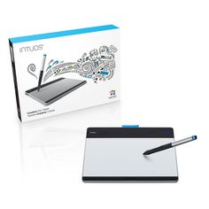 Just getting started with digital art? Wacom's Intuos Pen Tablet is a great way to explore your creative interests, with everything you need to get started in the box. With the innovative Intuos Pen Tablet and pressure-sensitive pen, you can create digitally with the natural comfort, precision and feel of traditional brushes and pencils