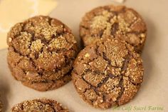 If you're looking for a fancy-dancy, decorated holiday cookie recipe and/or technique, you may just want to keep clicking your little mouse right on to another site. Butif you love good old-fashioned cookies with a delicious gourmet twist orif it's cookies that come together quickly without much fuss you're after or perhaps you're just a...