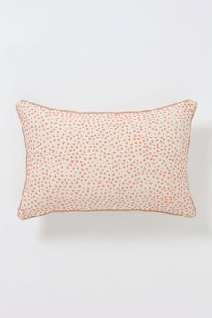 Counting Stitches Pillow at Anthropologie.