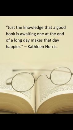 Ah, the anticipation of reading!