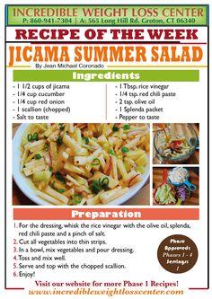Jicama Summer Salad