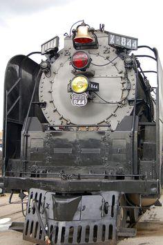 Union Pacific #844 at Union Station Kansas City