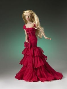 """16"""" RHAPSODY IN RED HOLIDAY ASHLEIGH - sold out"""