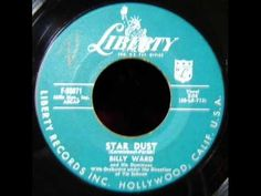 ▶ Stardust - Billy Ward & The Dominoes 1957 45 LIBERTY 55071 - YouTube