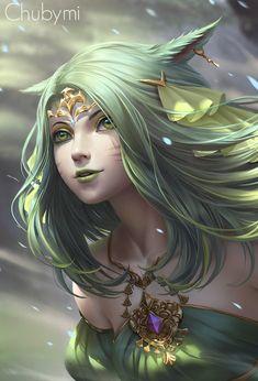 "darkbeautyss: ""Shadamehr from FFXIV. by ChubyMi "" Fantasy Characters, Anime Fantasy, Character Inspiration, Fantasy Artwork, Character Portraits, Fantasy Art, Beautiful Fantasy Art, Fantasy Character Design, Digital Art Girl"