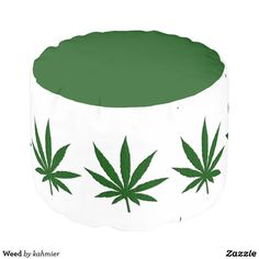 Weed Pouf #marijuana