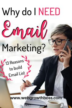Not growing an email subscriber base is one of the biggest mistakes any online business owner can make. But what exactly makes email such an effective marketing and sales channel?  What are the direct and indirect benefits of email marketing for your business? CLICK THROUGH TO KNOW! #emailmarketing #buildemaillist #blogmarketing #marketingstrategy Email Marketing Tools, Content Marketing, Affiliate Marketing, Social Media Marketing, Digital Marketing, Make Real Money Online, Make More Money, Email List
