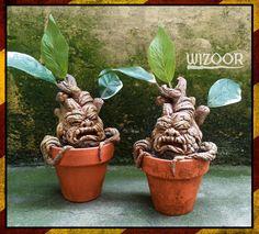 MANDRAKE mandragole HARRY POTTER by WIZOOR on Etsy
