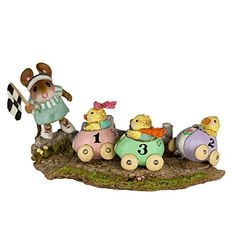 Wee Forest Folk M-609 Racey Chicks (New Easter 2017)