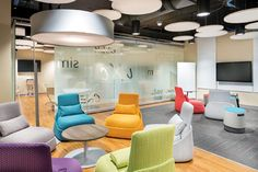 Workplaces are moving away from an overabundance of traditional conference rooms and toward flexible 'think tank' spaces that bear names like idea room or collaboration space.