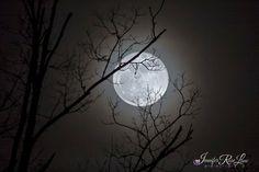 Full Moon of January 2015 Seen in West Virginia