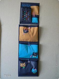 Шьем кармашки на шкафчик в детский сад - шитье