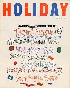 Holiday magazine cover