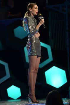 Gigi Hadid wears six outfits in one evening  - HarpersBAZAAR.co.uk