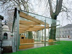 Leinster Pavilion in Dublin, Ireland by Bucholz Mcevoy Architects